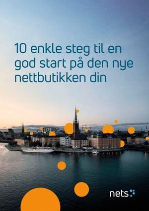 10 enkle steg til en god start