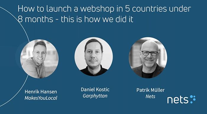 Nets webinar med Garphyttan og MakesYouLocal